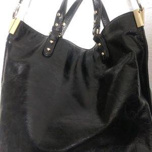 EUC Badgley Mischka Bag Large Shoulder Hobo Black